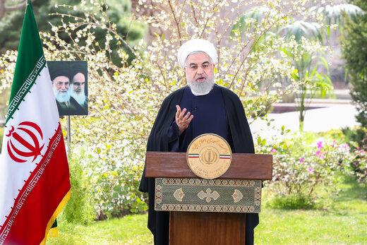 پیام نوروزی روحانی: سال ۹۹ را باید سالِ اشتغال و تحرک اقتصادی بسازیم
