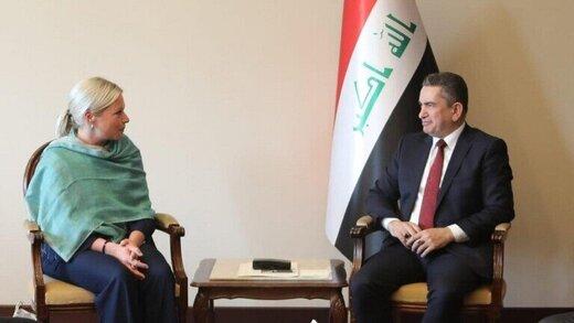 بیانیه دفتر الزرفی درباره دیدار نخستوزیر مکلف عراق با نماینده ویژه سازمان ملل