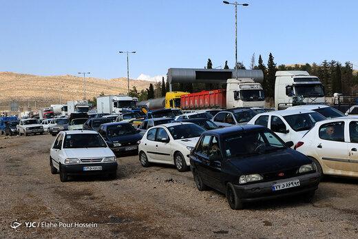 وضعیت جادههای شیراز در پی شیوع ویروس کرونا
