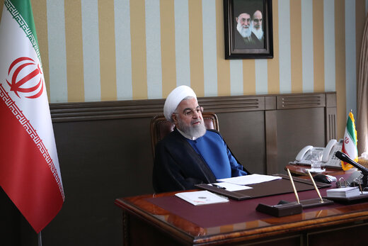 President Rouhani felicitates Supreme Leader on New Year