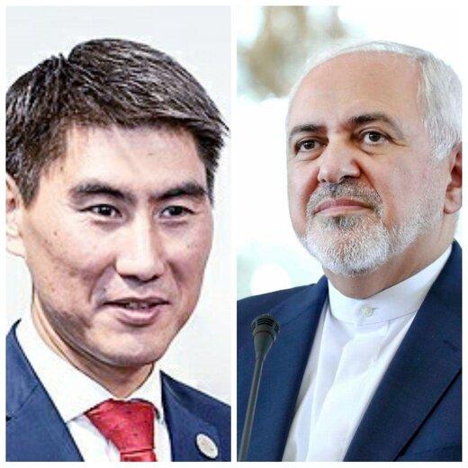 گفتگوی تلفنی ظریف با همتای قرقیزستانی