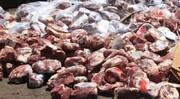 کشف ۱۰۰ کیلوگرم گوشت خوک از یک پراید