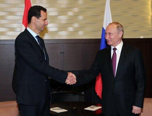 رایزنی پوتین و اسد درباره توافق ادلب