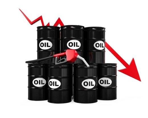 سقوط ۲۹ درصدی قیمت نفت آمریکا