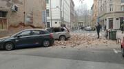 ببینید | تصاویر جدید از زلزله ویرانگر در کرواسی و شرایط ویژه بیمارستان مرکزی زاگرب