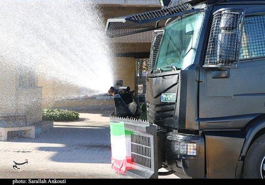 فردا نیروهای یگانویژه تهران در این معابر به جنگ کرونا میروند
