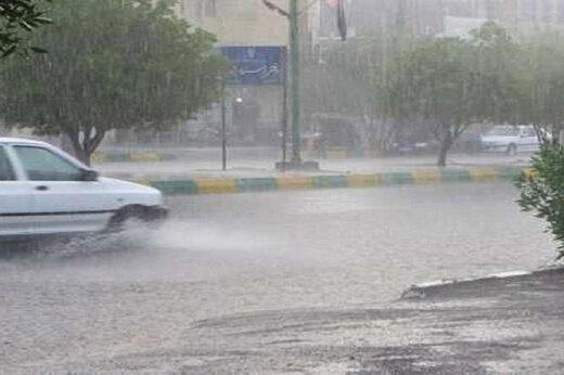 ببینید | شدت جریان سیلاب در ایذه خوزستان