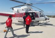 اعزام تیمهای واکنش سریع با هلیکوپتر به مناطق سیلزده
