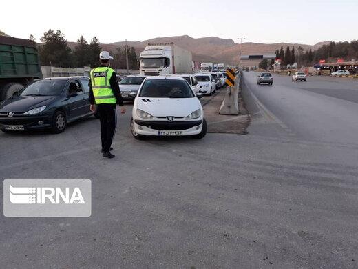 رییس پلیس راه یزد: ورود خودرو با پلاک سایر استانها به یزد ممنوع است