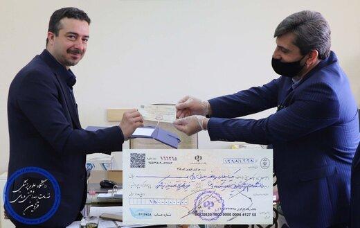 هدیه ۱/۵ میلیارد ریالی بانک رفاه به دانشگاه علوم پزشکی قزوین