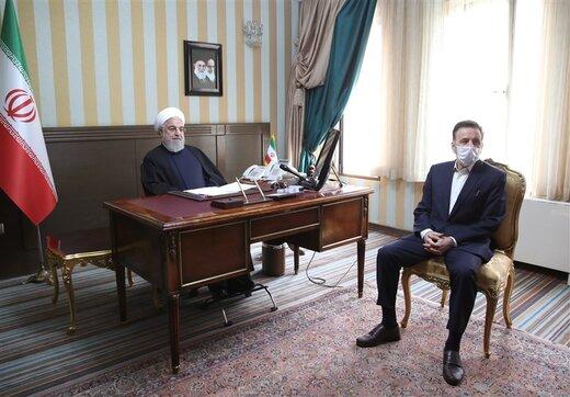 روحانی: تب سنجی از سرنشینان خودروها در کمترین زمان ممکن انجام گیرد /مراقبت بیشتری از کادر پزشکی شود