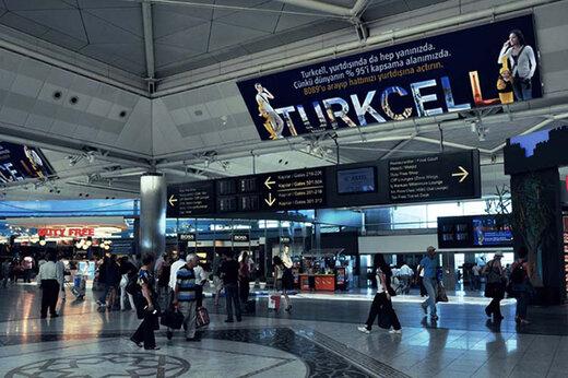 ببینید | درگیری در فرودگاه استانبول به دلیل لغو پروازها