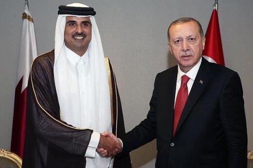 گفتگوی اردوغان با امیر قطر درباره کرونا