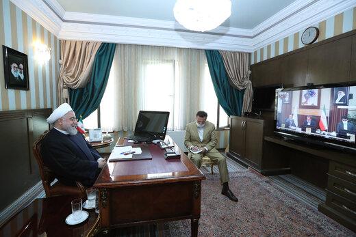 روحاني: الحكومة مستعدة لسد الإحتياجات والنقائص المحتملة في طهران