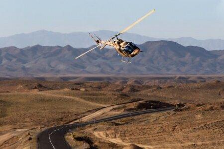 وقوع حادثه برای بالگرد نیروی زمینی سپاه