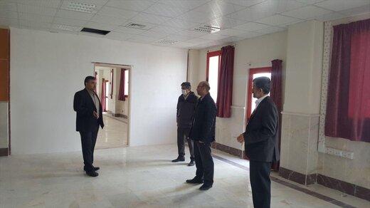 بازدید رئیس واحد زنجان دانشگاه آزاد از روند آمادهسازی زیرساختهای ساختمان شهید سلیمانی
