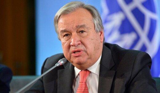 گوترش خواستار همکاری کشورها با ایران شد