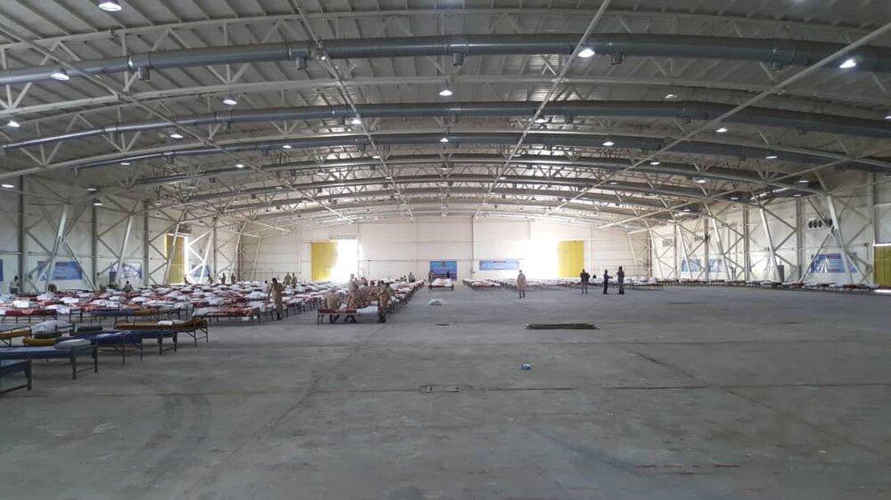نقاهتگاه ۲ هزار تختخوابی که ارتش در کمتر از ۲۴ ساعت در نمایشگاه بینالمللی ساخت