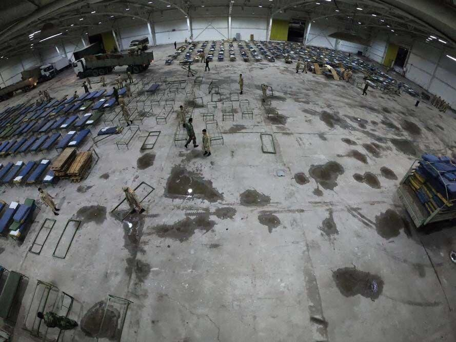 نخستین تصاویر از نقاهتگاه ۲هزار تختخوابی ارتش در تهران