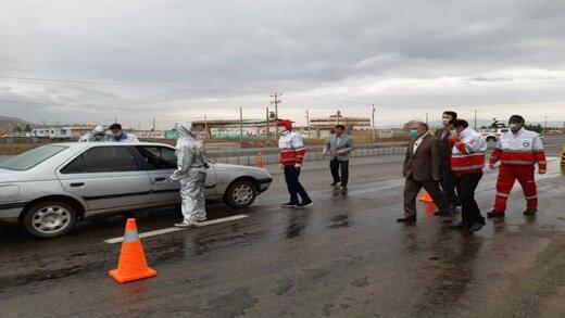 شناسایی بیش از ۲۰۰ فرد مشکوک به کرونا در ورودی های همدان