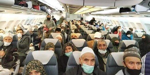 زائران  هندی به کشورشان بازگشتند