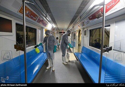 کاهش ۸۰ درصدی درآمد متروی تهران