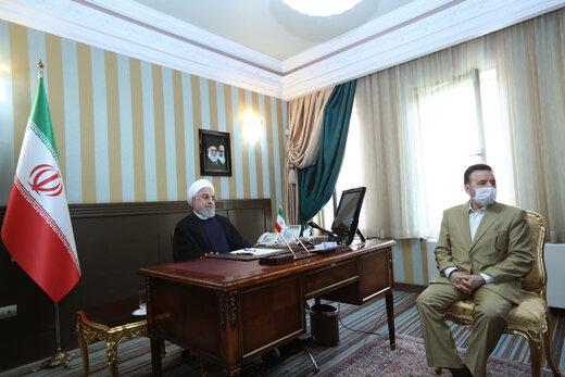 روحاني يؤكد ضرورة الإسراع في وتيرة تقديم المساعدات الى المنكوبين بالفیضانات