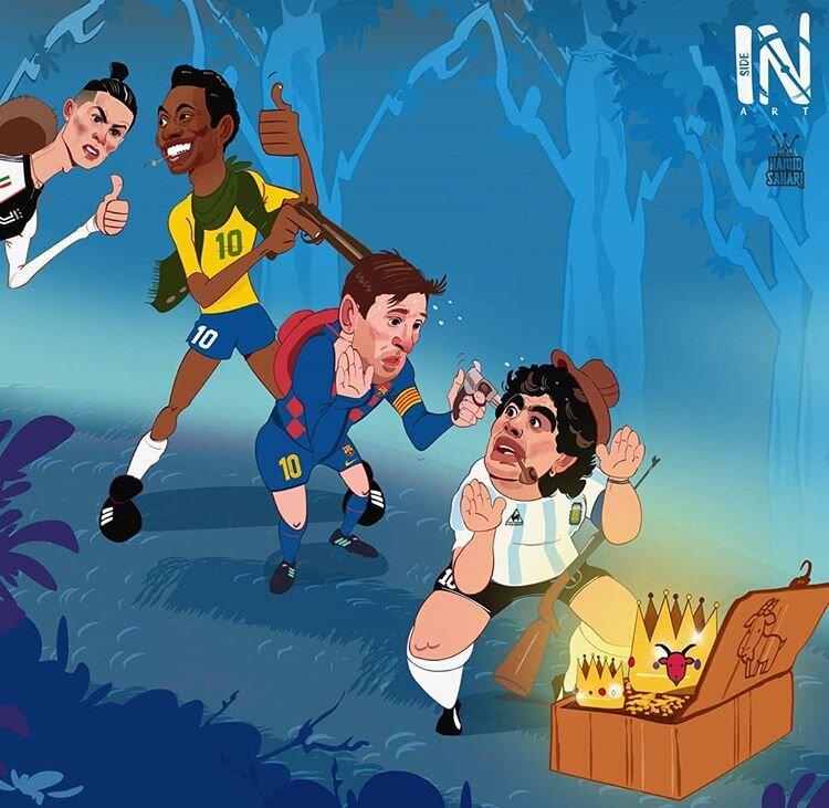 پله تکلیف پادشاهان فوتبال دنیا را مشخص کرد!