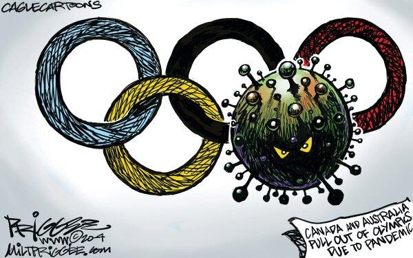 ببینید کرونا چطور المپیک را هم درگیر کرد!