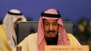 پادشاه سعودی به بیمارستان منتقل شد