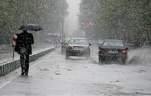 هشدار به کشاورزان آذربایجانشرقی درباره بارش تگرگ