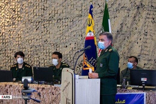بازدید علی لاریجانی از بیمارستان صحرایی سپاه