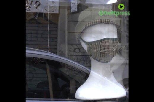 ببینید | تولید ماسک های فشن و لاکچری در ایتالیا!