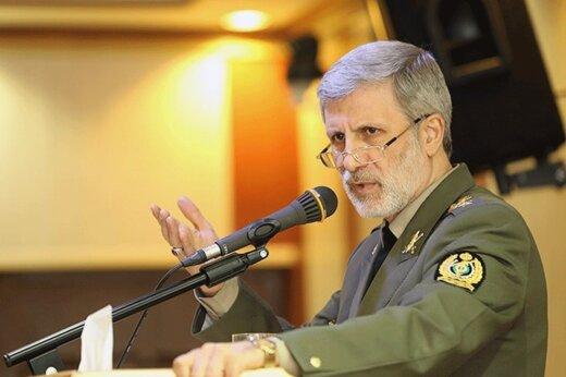 هشدار جدی وزیر دفاع: هرگونه حرکت مذبوحانه دشمن مقتدرانه پاسخ داده میشود