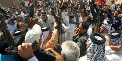 تجمع عشایر مسلح برای مقابله با کودتای آمریکا