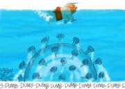 شنای آقای رئیسجمهور در منطقه ممنوعه!