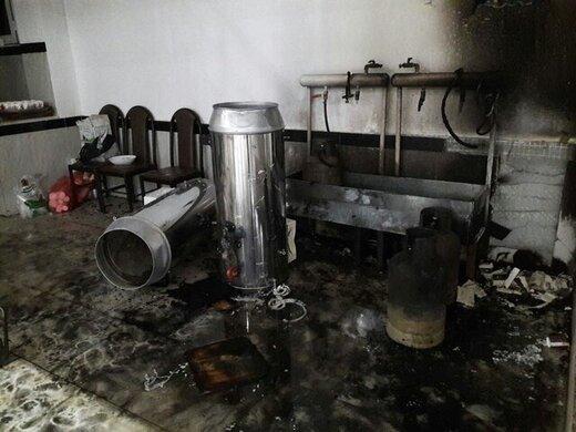 انفجار مرگبار در یک ساختمان مسکونی در تهران