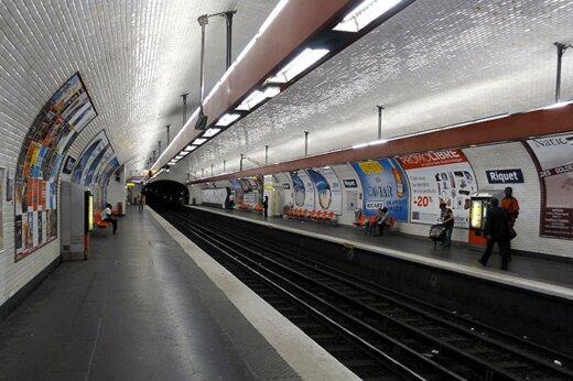 ببینید | متروی سوت و کور پاریس در روزهای کرونایی