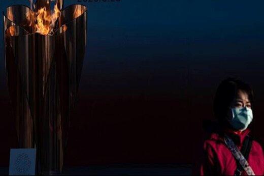 ببینید | لحظه روشن کردن مشعل المپیک ۲۰۲۰ در ژاپن