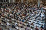 ببینید| سبک جدید نماز جمعه در دوره کرونا