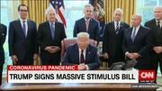 سی ان ان با انتشار تصویری از کاخ سفید کانون شیوع کرونا را نشان داد/عکس