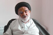 آخرین عضو بازمانده از هیئت استفتاء امام را در کنار آیتالله خامنهای ببینید+عکس