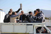 ببینید | تصویری از پشت صحنه مواد پخش کردن ارسطو در پایتخت۶!