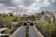 ببینید | بلایی که کرونا سر خیابانهای شلوغ تهران آورد