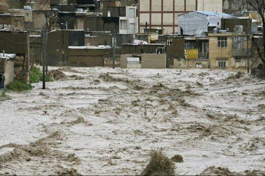ببینید   سیل وحشتناک در جازان عربستان