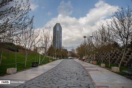خیابانهای خلوت تهران