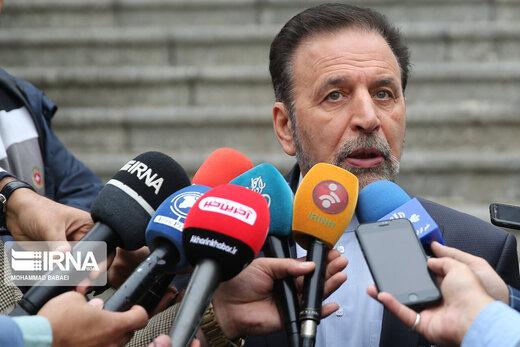 واعظي: ایران لن تترك اصدقاءها لوحدها في هذه الایام الصعبة