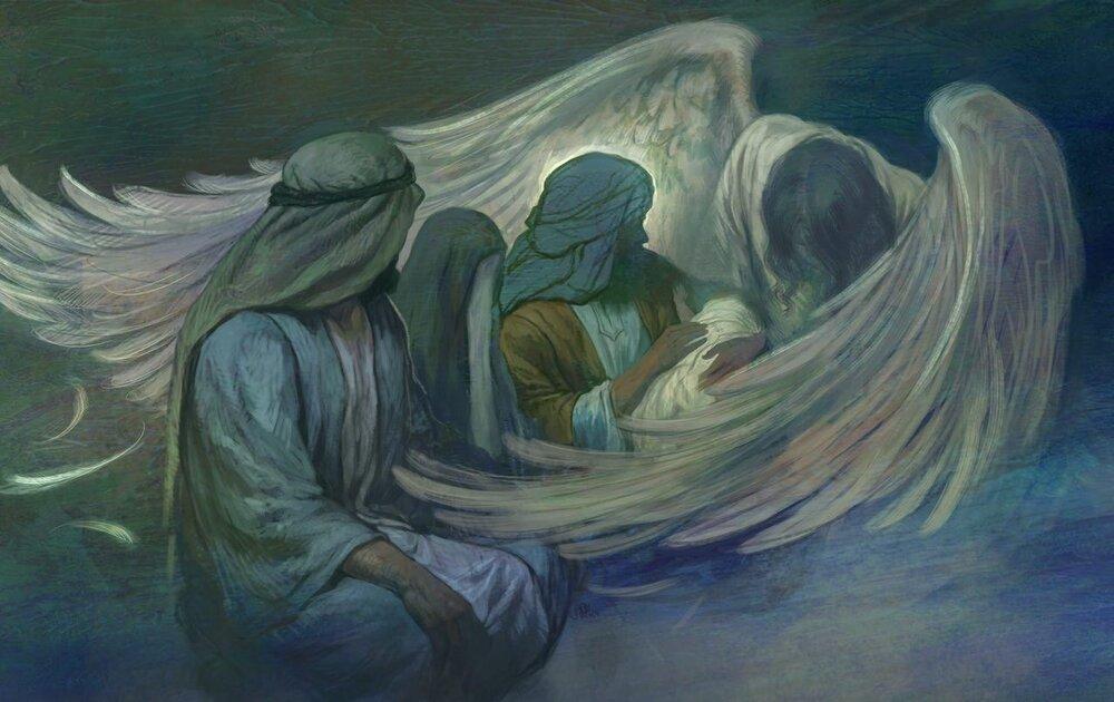 حسن روح الامین , نقاشی , امام حسین (ع) ,