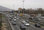 تردد در جادهها چند درصد کاهش پیدا کرد؟