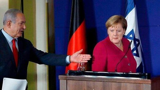 مرکل به درخواست کمک نتانیاهو نه گفت